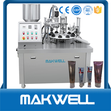 manual cosmetic tubes filling machines with low price