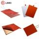 Customized industrial electric 3d printer silicone heater flexible silicone rubber heat /heater /heating pad with 3M glue