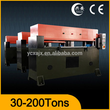 Precision hydraulic corrugated board die cutting machine