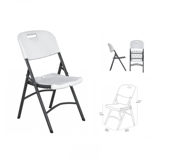 HDPE furniture cheap outdoor high quality plastic folding chair for event,white plastic folding banquet ,dining chair