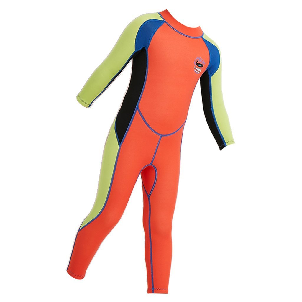 Homyl Kid's Wetsuit 2.5mm Neoprene Warm for Diving Swimming Snorkeling UV Protection - Choose Size Color