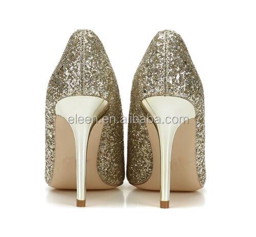 Glitter Pointed Unique Heel High Shoe Woman Toe Elegant Z1vv7W
