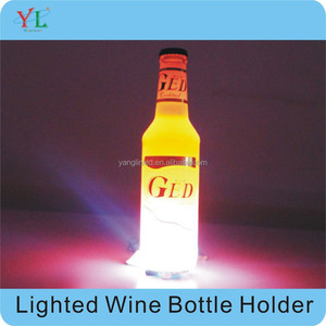 2015 Alibaba Good product cheap price Led growing plastic beer bottle holder