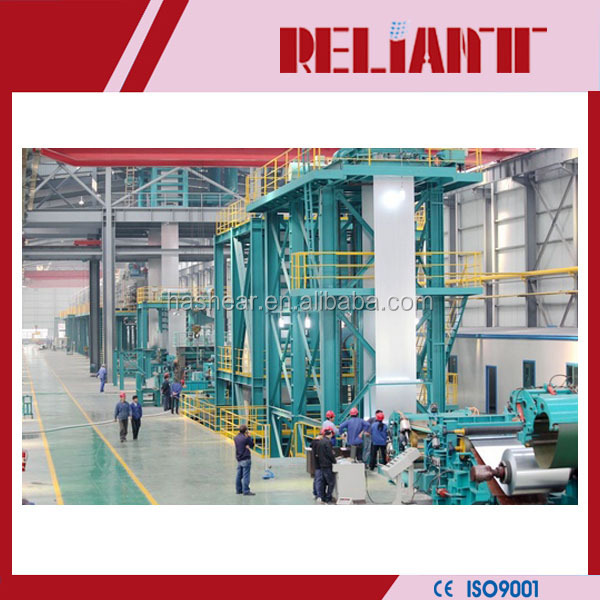 Carbon steel/ Alloy steel Hot-dip galvanizing production line with electricity gas