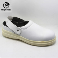 anti slip & toe protection safety hospital clog shoe for nurse and doctor