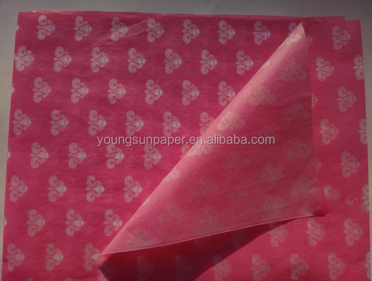 cadeau personnalis impression de tissu papier emballage cadeau papier de soie avec company. Black Bedroom Furniture Sets. Home Design Ideas