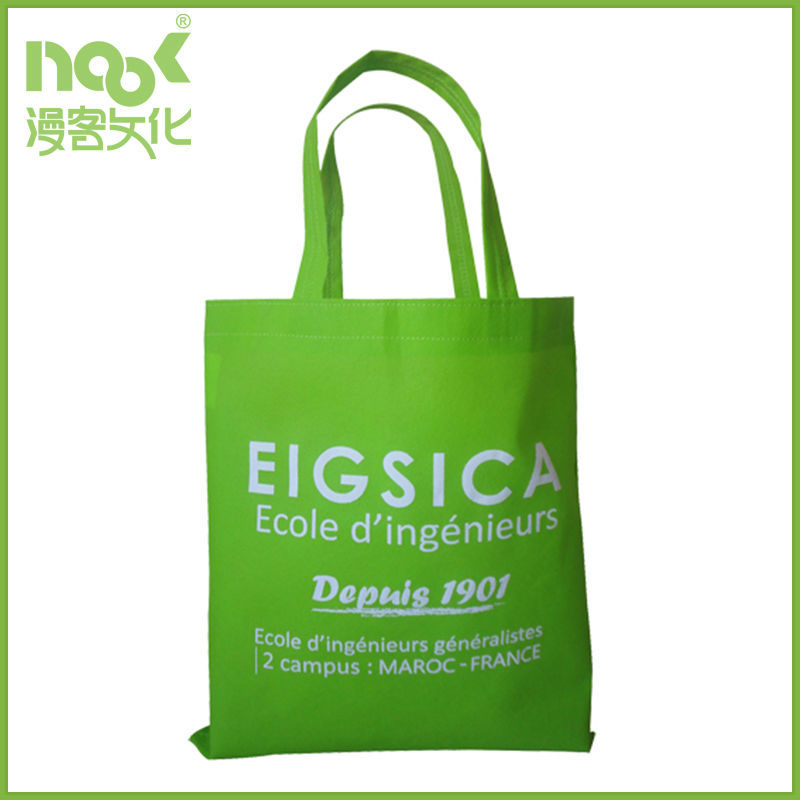 non woven eco green friendly reusable tote bag