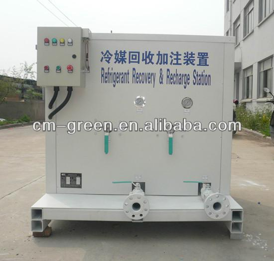 Excellent Quality and Good Price residual gas refrigerant recovery machine specially for ISO tank