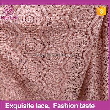 New Arrival Hand Embroidery Designs For Dress African Tulle Lace
