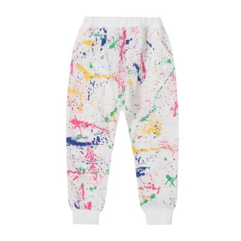 2019 New Fashion Girls tracksuit Baby kids Sport clothes Set coloful Letter printed children Suit Clothing set for 3-7years old