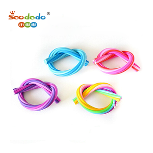 Wholesale Long Multi Color Knot Eraser For Promotion