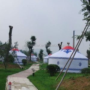 Popular mongolian yurt tent waterproof