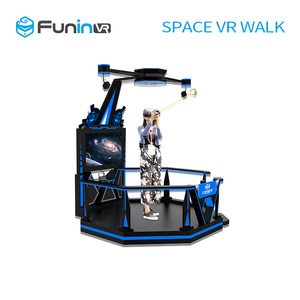 Electric motion ride HTC Vive VR space walk 9d motion ride truck mobile 9d cinema