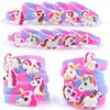 Hot Sale Silicone Unicorn Bracelet Eco Friendly Silicon Bracelet Festival Even Rubber Wristband for Kids