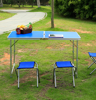Outsunny Folding Portable Aluminum Utility Patio Table