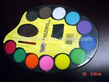 excellent quality water color cake paint set