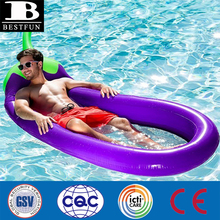 High Quality Inflatable <span class=keywords><strong>Terong</strong></span> Air Kasur Tahan Lama <span class=keywords><strong>Plastik</strong></span> Blow Up Mesh Lounge Pulau Raft