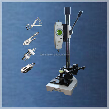 button snap pull out tester &button tensile tester especially for children's clothing