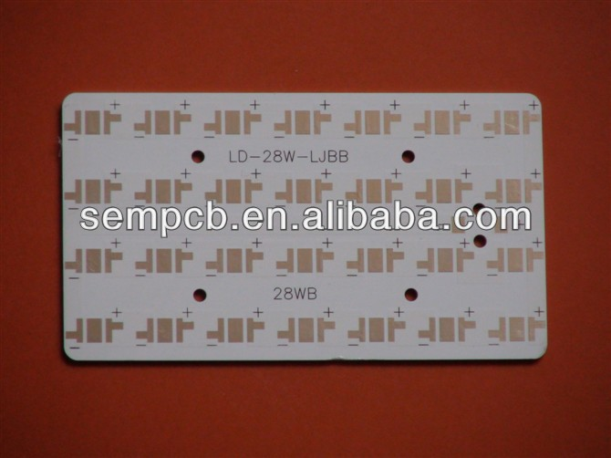 Luces del panel del led fr4 pcb board wiht p10 smd rgb led pcb