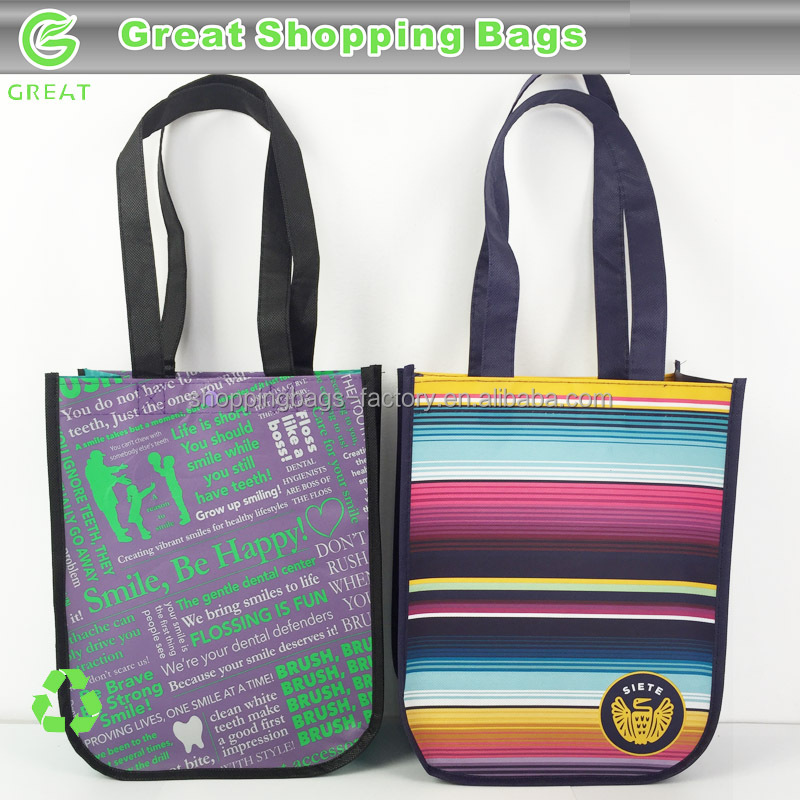 Round Corner custom shopper bag