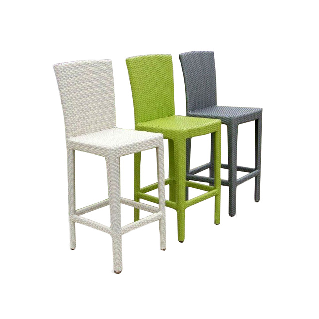High Back Rattan Bar Stool Outdoor Stools Wicker Cane Product On Alibaba
