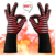Kitchen Christmas Microwave Oven BBQ Grill Gloves Heat Resistant