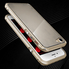 Showkoo private label Ginmic brand aluminum metal bumper case for iphone 7 transparent pc back cover for iphone 6