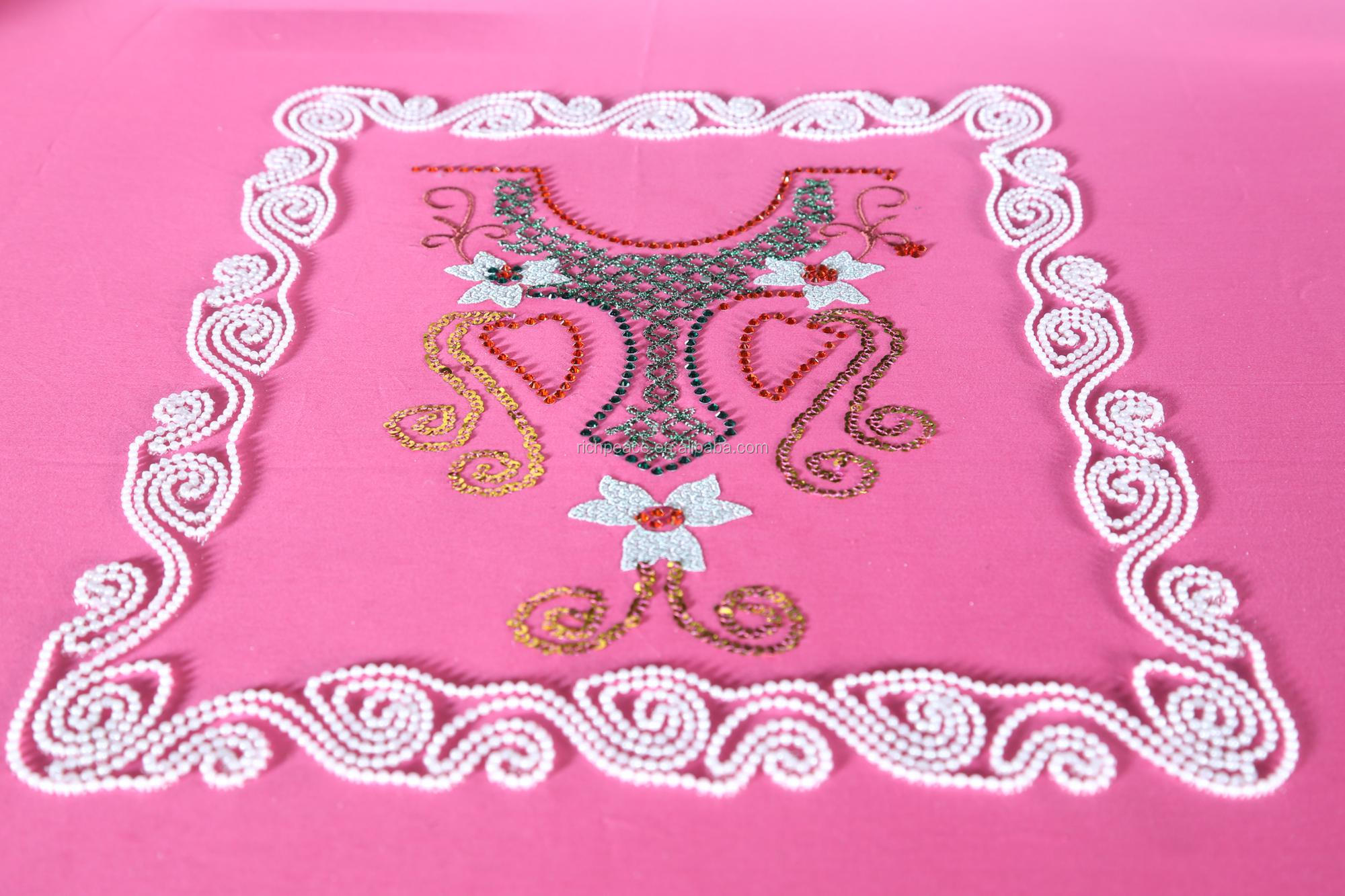 Richpeace Computerized Mixed Rhinestone Embroidery Machine
