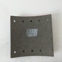 Ceramic fibre material brake shoe lining auto brake system brake kit