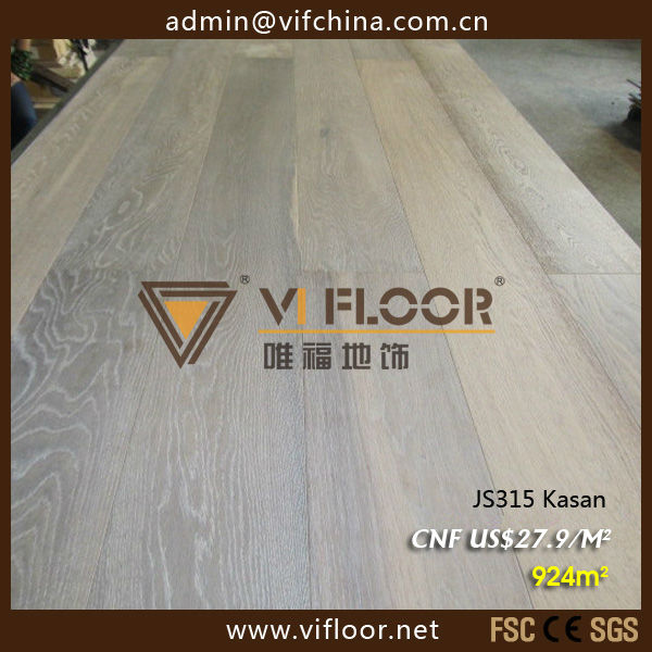 JS315 Kasan 3 layer oak engineered wood flooring