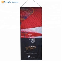 Overhead display trade show advertising digital printing hanging banner sign from ceiling