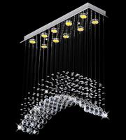 New design Rainbow pendant lamp Asfour crystal lighting