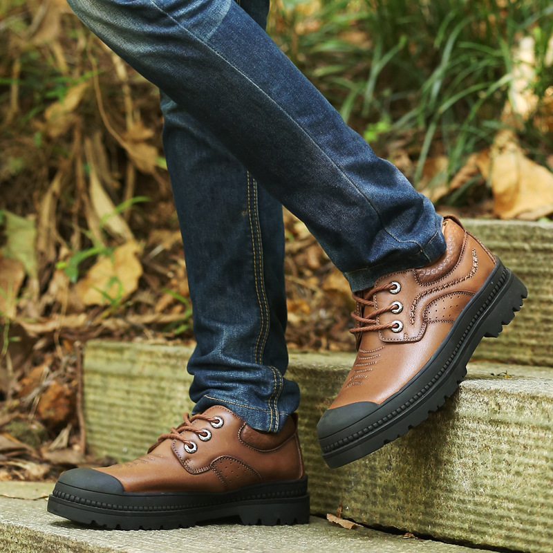 trekking spring first autumn layer winter slip anti men Outdoor shoes leisure qfOz4Uxfw