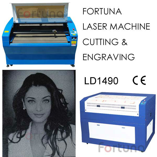 Fortuna LD1490 laser engraving and cutting machine