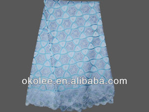 African swiss lace fabric for party/wedding dress lace/swiss voile lace fabric with stones
