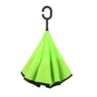Grass Umbrella Umbrella Market Umbrella Grass Green Windproof Upside Down Inverted Umbrella