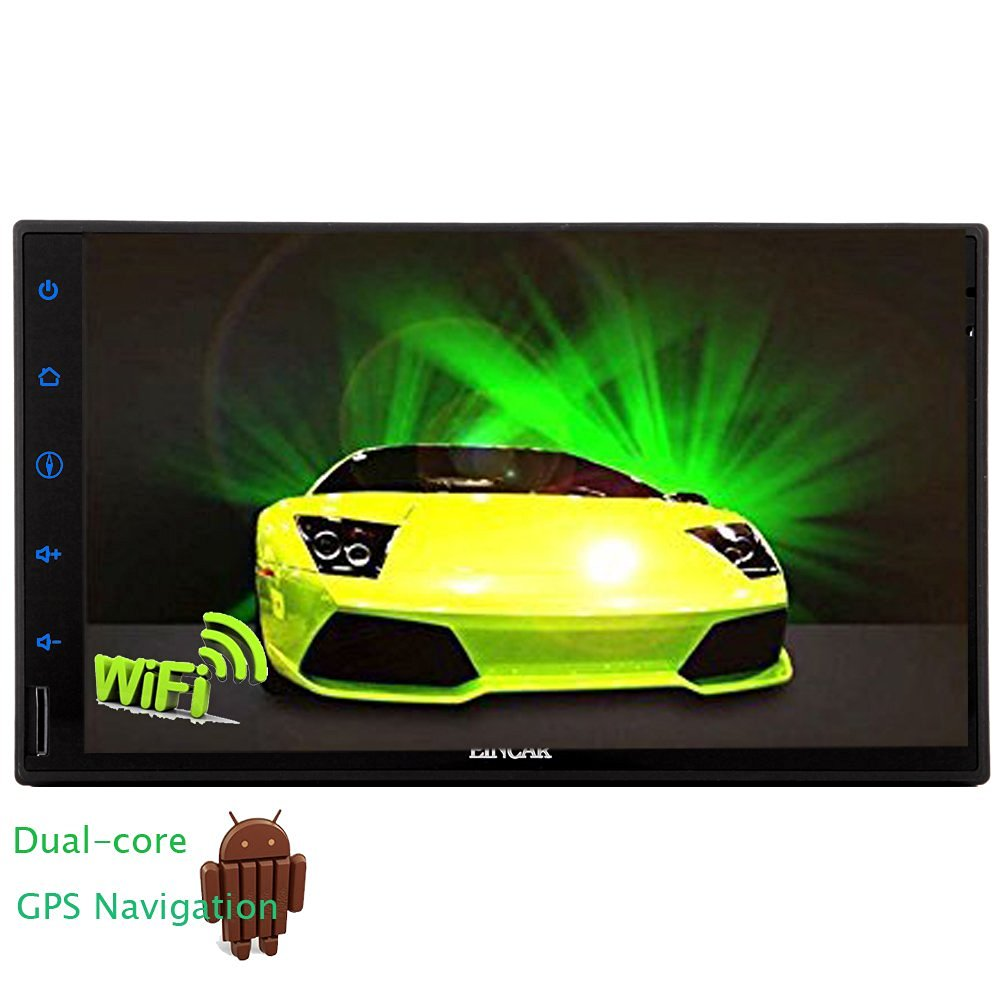 Eincar 3D GPS Map 7inch Capacitive Multi-TouchScreen Android 4.2 Double 2 din Car Tablet Media Radio Stereo Audio GPS Navi Navigation Dual-core CPU Headunit Radio Receiver HD Full-touch Screen Car Pc