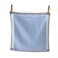 100 cotton plain soft cheaper hand towel high quality handkerchief