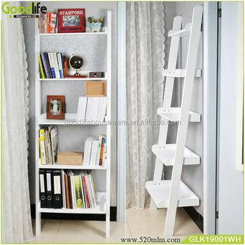 Meubelen Van Hoge Kwaliteit Houten Ladder Plank Boekenkast - Buy ...