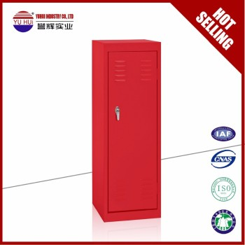 Metal Steel Red Storage Cabinet / Locker With Free Combination For Children