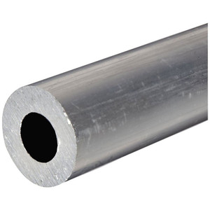 6061 6063 7075 extruded aluminium round tube aluminium pipe from Chinese plant