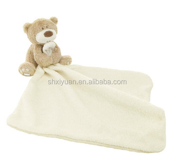 Plush Animal Pillow Blanket Animal Head Plush Baby Blanket Plush