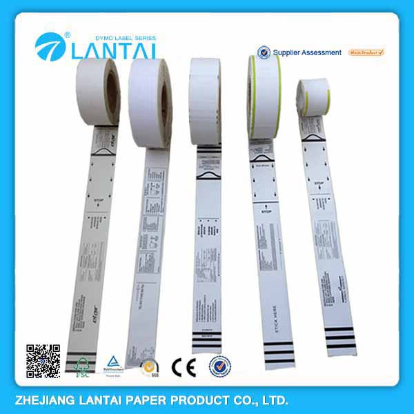 Self-Adhesive Aviation Luggage Tag Thermal Paper Direct Printing