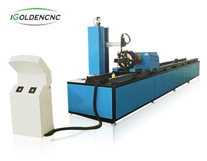 4 axis automatic portable cnc plasma pipe cutting machine for metal tube