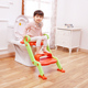 Portable Plastic Baby Potty, Stair Potty, 2 in 1 Multi-purpose potty chair