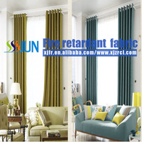 All Kinds Of Flame Retardant Home Used Curtain