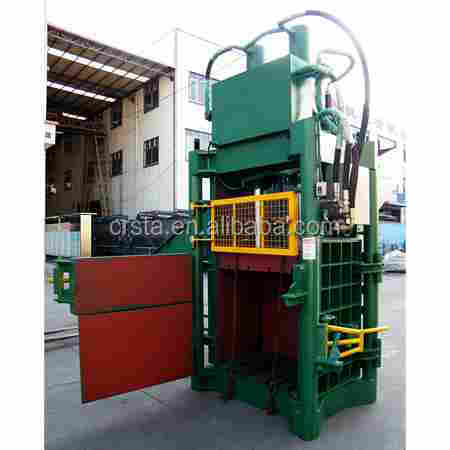 PET bottle hydraulic press baler/ Plastic pressing machine for sales