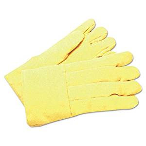 Para-aramid synthetic fiber High Heat Gloves (Box of 12 Pairs) - k-37wl Para-aramid synthetic fiber high heat wool lined gloves