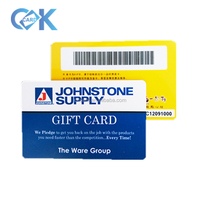 Custom CMYK or pantone Color and PVC/ ABS/PET Material loyalty card
