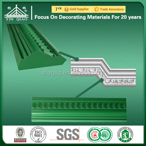 Fiberglass molds for plaster coving crown moulding